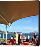 Caribbean Cruise - St Kitts - 121284 Canvas Print by DC Photographer