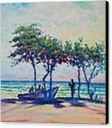 Caribbean Sun Canvas Print by Joseph   Ruff