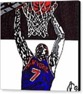 Carmelo Anthony Canvas Print