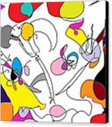 Carnival Canvas Print by David Skrypnyk