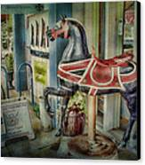 Carousel Hourse Canvas Print