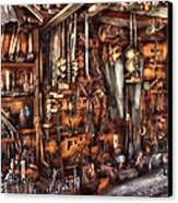 Carpenter - That's A Lot Of Tools  Canvas Print