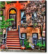 Carrie's Place - Sex And The City Canvas Print