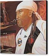 Carter Beauford At Red Rocks Canvas Print