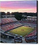 Carter-finley Stadium Canvas Print by Elevated Perspectives LLC