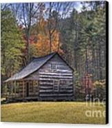 Carter-shields Cabin Canvas Print by Crystal Nederman