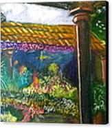 Casa Luna Canvas Print