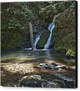 Cascade Falls Canvas Print by Kenneth Hadlock