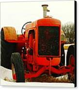 Case Tractor Canvas Print by Jeff Swan