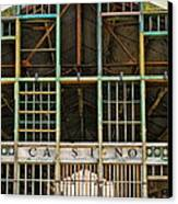 Casino In Multi-color Canvas Print by Colleen Kammerer