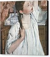 Cassatt, Mary Stevenson 1845-1926. Girl Canvas Print
