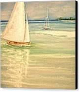 Castaway Canvas Print by The Beach  Dreamer