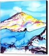 Caste Rock Antarctica Canvas Print by Carolyn Doe