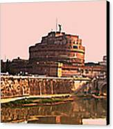 Castel Sant 'angelo Canvas Print
