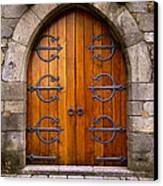 Castle Door Canvas Print by Carlos Caetano