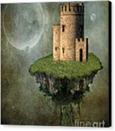 Castle In The Sky Canvas Print by Juli Scalzi
