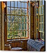 Castle Office Canvas Print by Susan Candelario