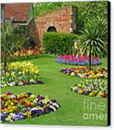Castle Park Gardens  Canvas Print