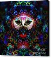 Cat Carnival Canvas Print by Klara Acel