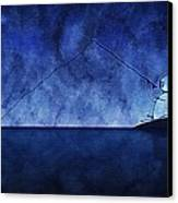Catching The Moon Under Water Canvas Print