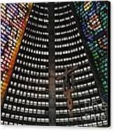Catedral Metropolitana Do Rio De Janeiro Canvas Print