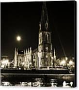 Cathedral At Nine Fifteen Canvas Print by Tony Reddington