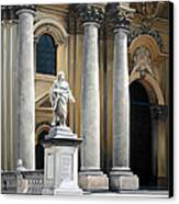 Cathedral Of Syracuse Canvas Print by Kathleen English-Barrett