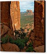 Cathedral Rock 05-012 Canvas Print by Scott McAllister