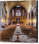 Cathedrale Saint-etienne Interior / Cahors Canvas Print