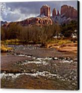 Cathedral's Dusting  Canvas Print by Tom Kelly