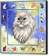 Cats Purrfection Four - Persian Canvas Print