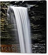 Cavern Cascade Canvas Print by Frozen in Time Fine Art Photography
