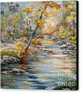 Cedar Creek Trail Canvas Print