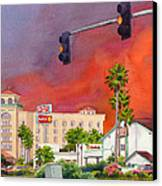 Cedar Fire San Diego 2003 Canvas Print