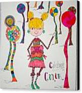 Celebrating Color Canvas Print by Mary Kay De Jesus