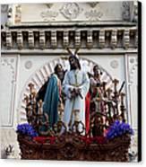 Celebrations On Palm Sunday In Cordoba Canvas Print