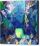 Celestial Sea Canvas Print by RC deWinter