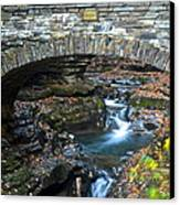 Central Cascade Canvas Print by Frozen in Time Fine Art Photography