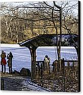 Central Park Photo Op 2 - Nyc Canvas Print by Madeline Ellis