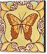 Ceramic Butterfly Canvas Print