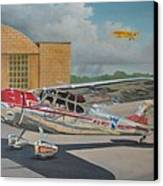 Cessna 195 Canvas Print by Stuart Swartz
