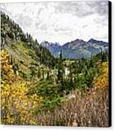 Chain Lakes Canvas Print