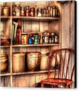 Chair - Chair In The Corner Canvas Print