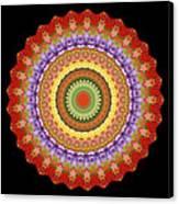 Chakra Spin Canvas Print