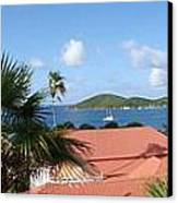 Chalotte Amalie Bay Canvas Print by Russell Windle