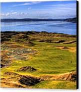 Chambers Bay Golf Course II Canvas Print by David Patterson