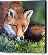 Chance Encounter Canvas Print by Patricia Pushaw