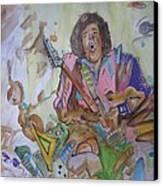 Chaos Canvas Print by Erik Franco