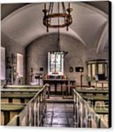 Chapel In Wales Canvas Print