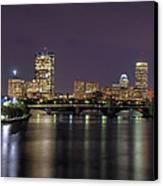 Charles River Reflections - Boston Canvas Print by Joann Vitali
